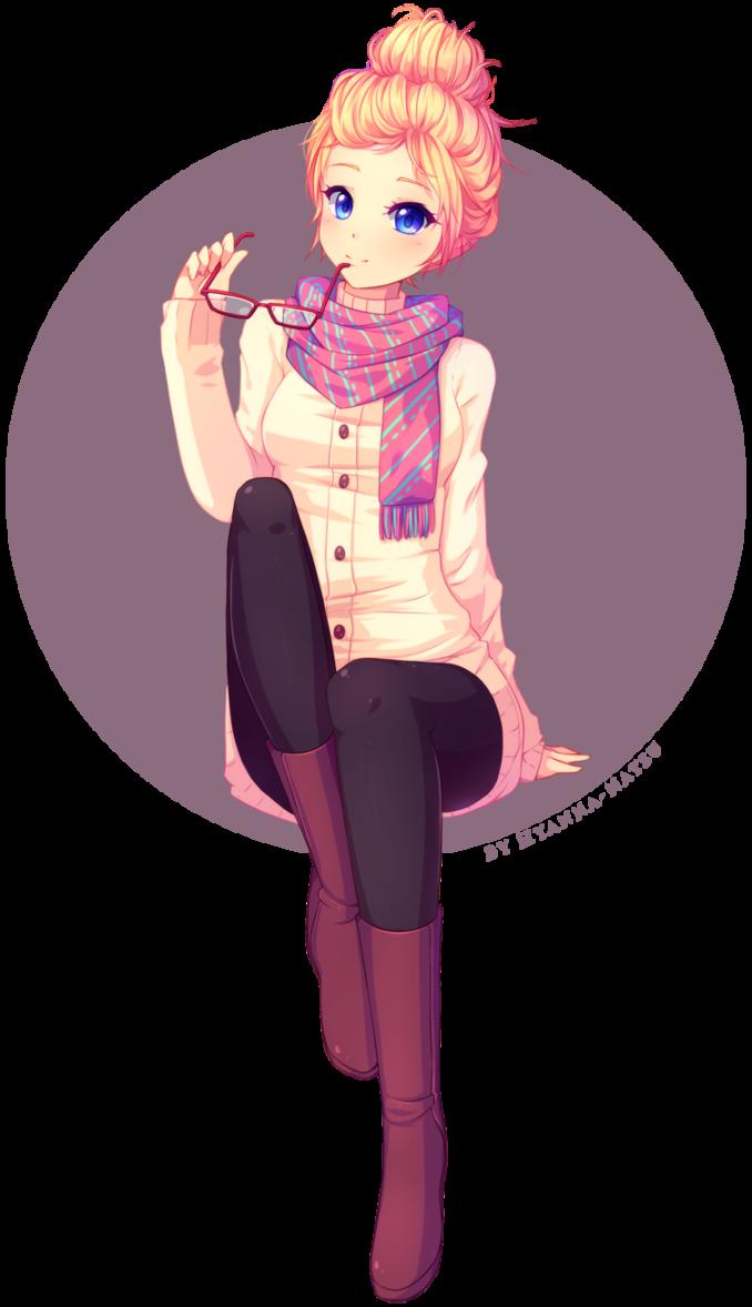 Commission Erika Speedpaint Manga Girl Anime Characters Anime Chibi