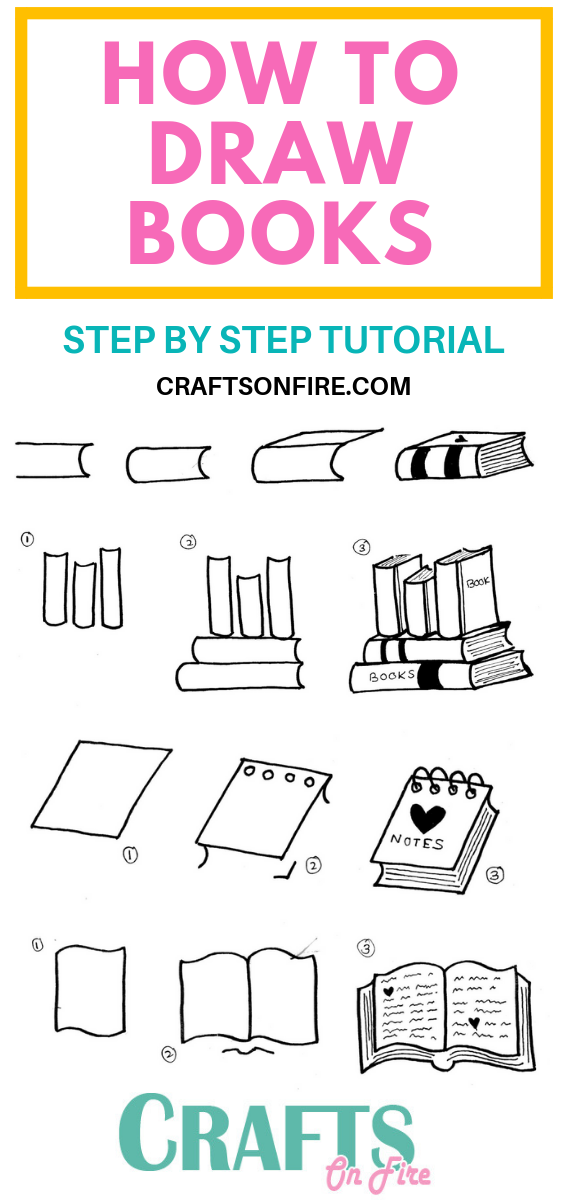 Photo of How To Draw A Book: Easy Step By Step Tutorial You'll Love – Craftsonfire
