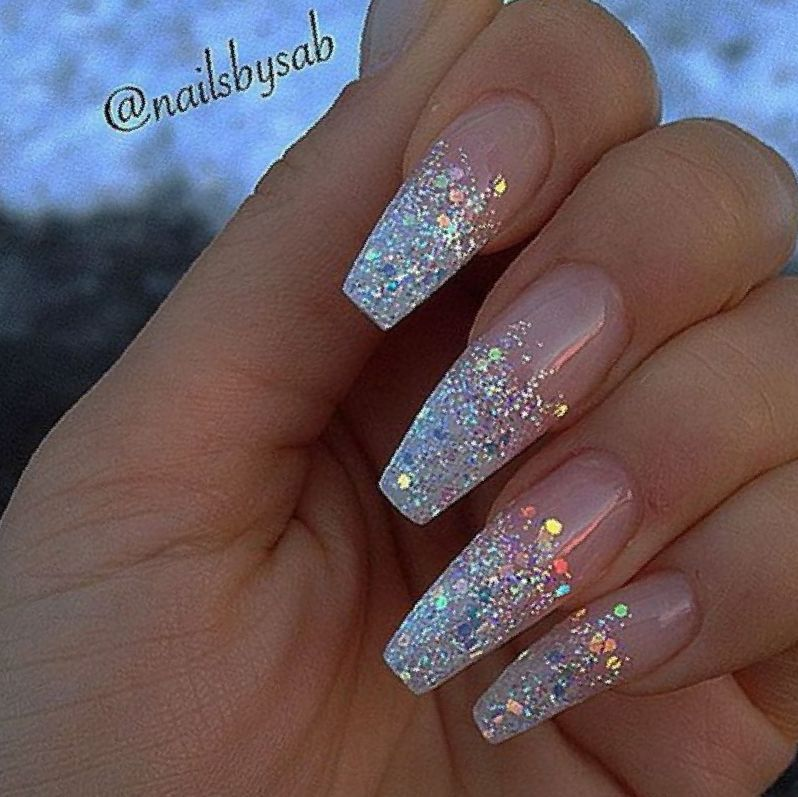 48 Alluring Acrylic Coffin Nails To Make Your Fall Nails Beautiful Page 4 Of 48 Latest Fashion Trends For Woman Nails Coffin Nails Long Stiletto Nails Designs