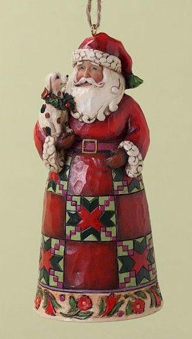 Jim Shore Christmas Ornaments At Fiddlesticks Jim Shore Christmas Jim Shore Santa
