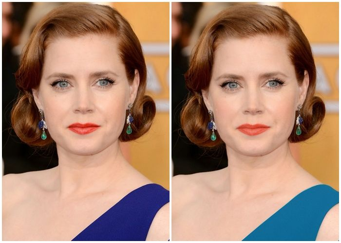 Amy Adams Warm True Spring Before And After Com Imagens