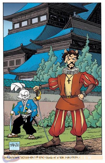 "EXCLUSIVE: Sakai's ""Usagi Yojimbo"" #150 Cover Revealed - Comic Book Resources"