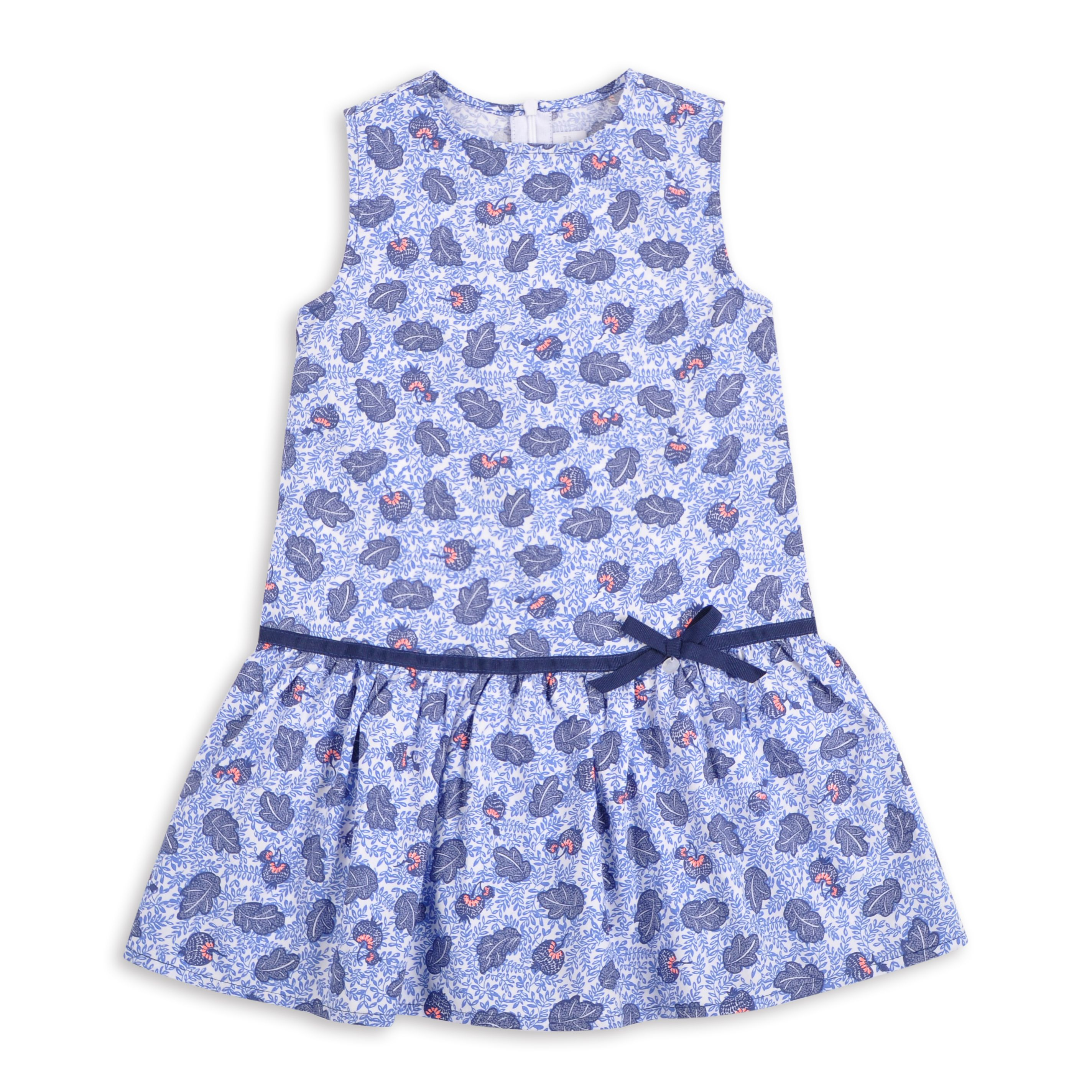 ccc923aef Vestido EPK para niña de estampado en tonos de azul | el armario de ...