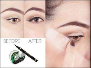 رسم الايلاينر الآن تعلمي طريقة رسم الايلاينر الفرنسي مجلة روميساء Eyeliner Makeup Liquid Eyeliner