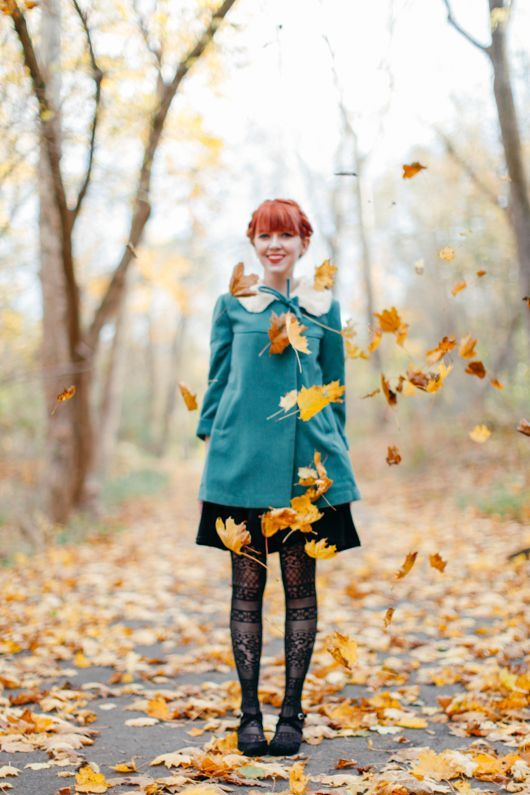 Fall Softly In Turquoise