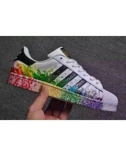 Hombre Mujer Core Adidas Originals Superstar Zapatos Core Mujer Negro Running 2845bd