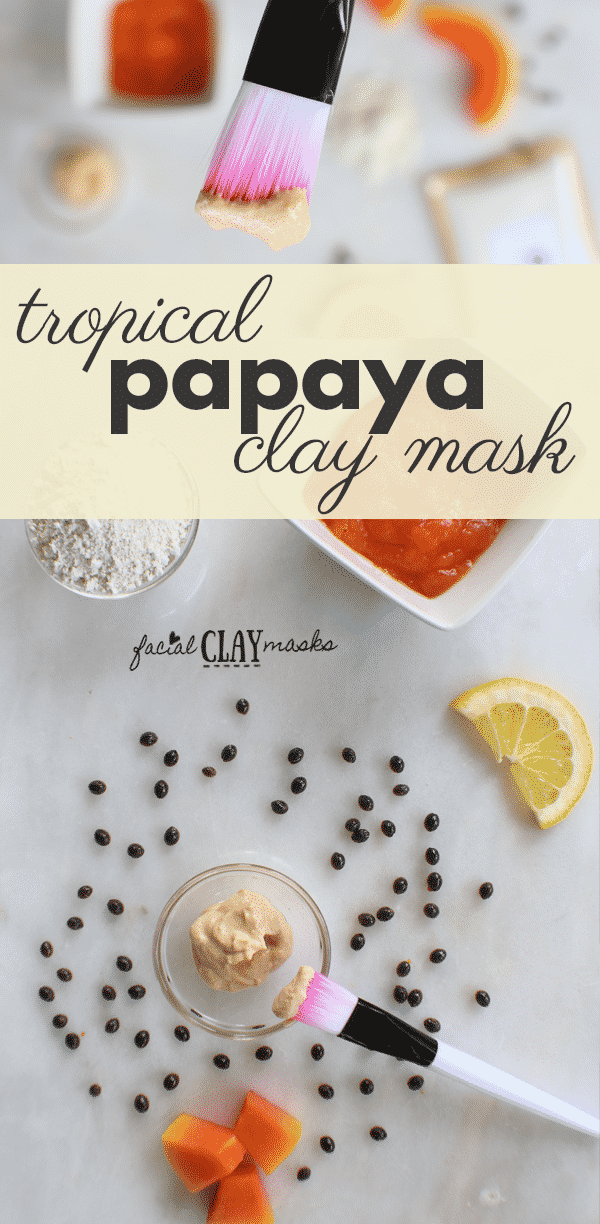 Tropical Papaya Face Mask for Radiant Summer Skin