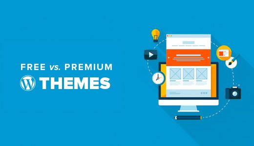 We are often asked by beginners how to choose between free vs premium WordPress themes. What are the advantages and disadvantages? If you too had those questions, then you're in the right place. In this article, we will discuss free WordPress themes vs premium WordPress themes (pros and cons).    Pros of Free WordPress Themes  First, we would like to mention that when we say free themes, we mean free WordPress themes that are listed in the official WordPress.org Themes dir