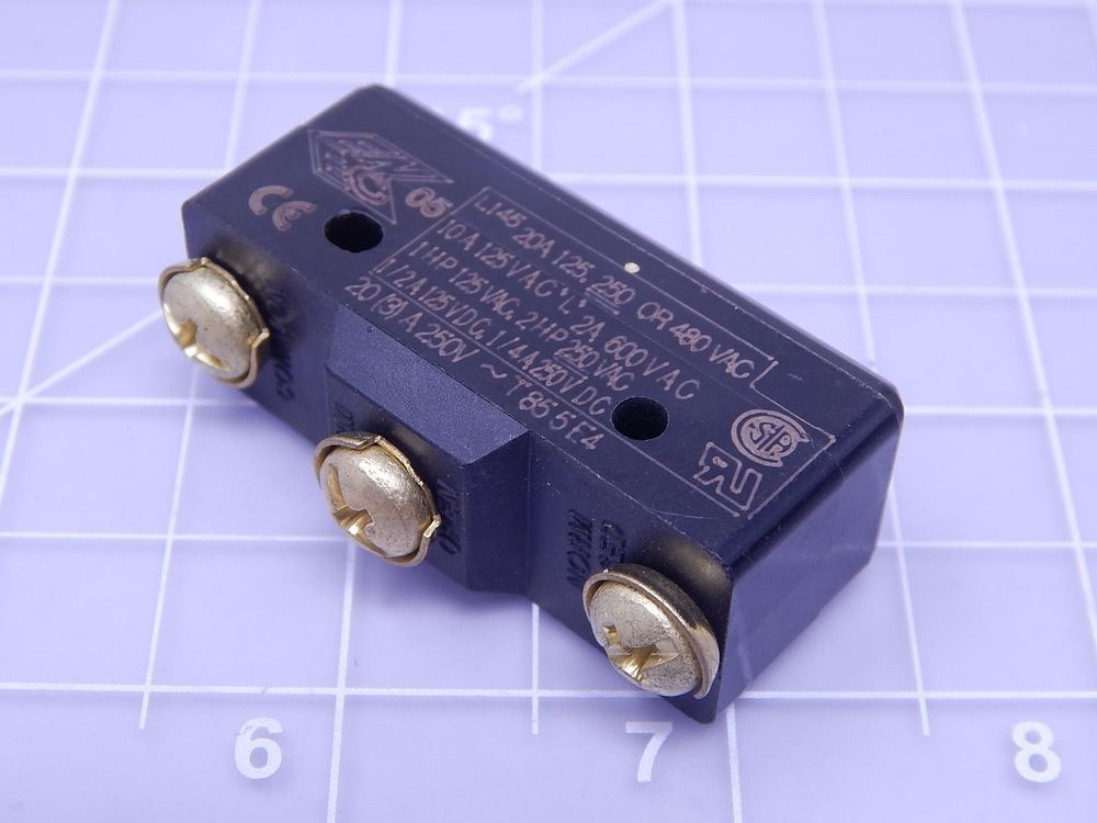 Micro Switch Ba 2r A4 Ba Series Basic Snap Action Switch T123982