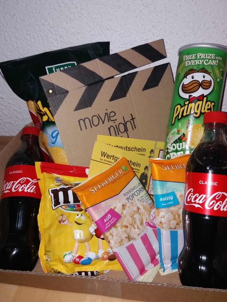Movie Night Box #kinoboxgeschenk