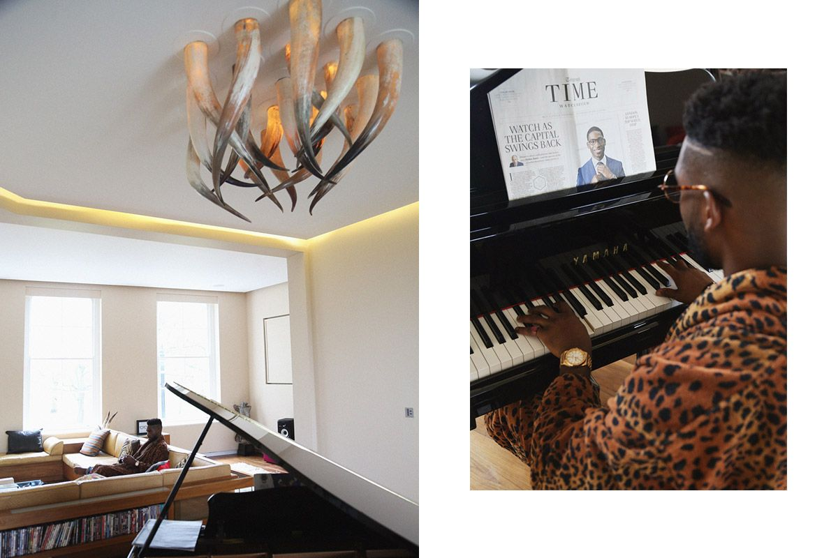 UK rapper Tinie Tempah gives us an exclusive tour of his formerly Alexander McQueen-owned house in East London.