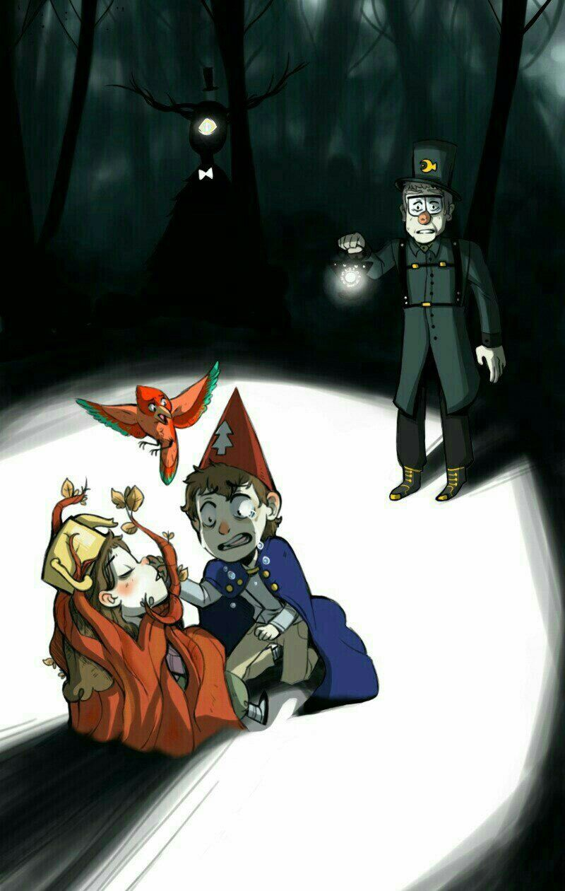 Over the garden wall art style  Gravity Falls  Over the Garden Wall crossover  Gravity Fallz