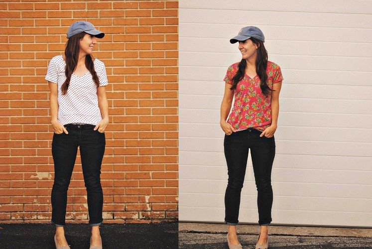 Union St. Tee, Union St. Tee Sewing Pattern by Hey June, Creation by Teresa  :: Dandelion Drift   Indiesew.com