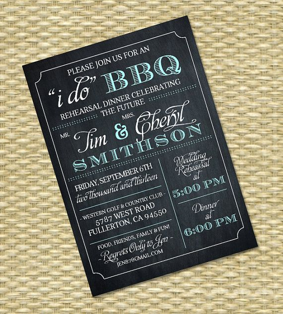 Top 25 ideas about I DO BBQ Invitations on Pinterest | Diy ...