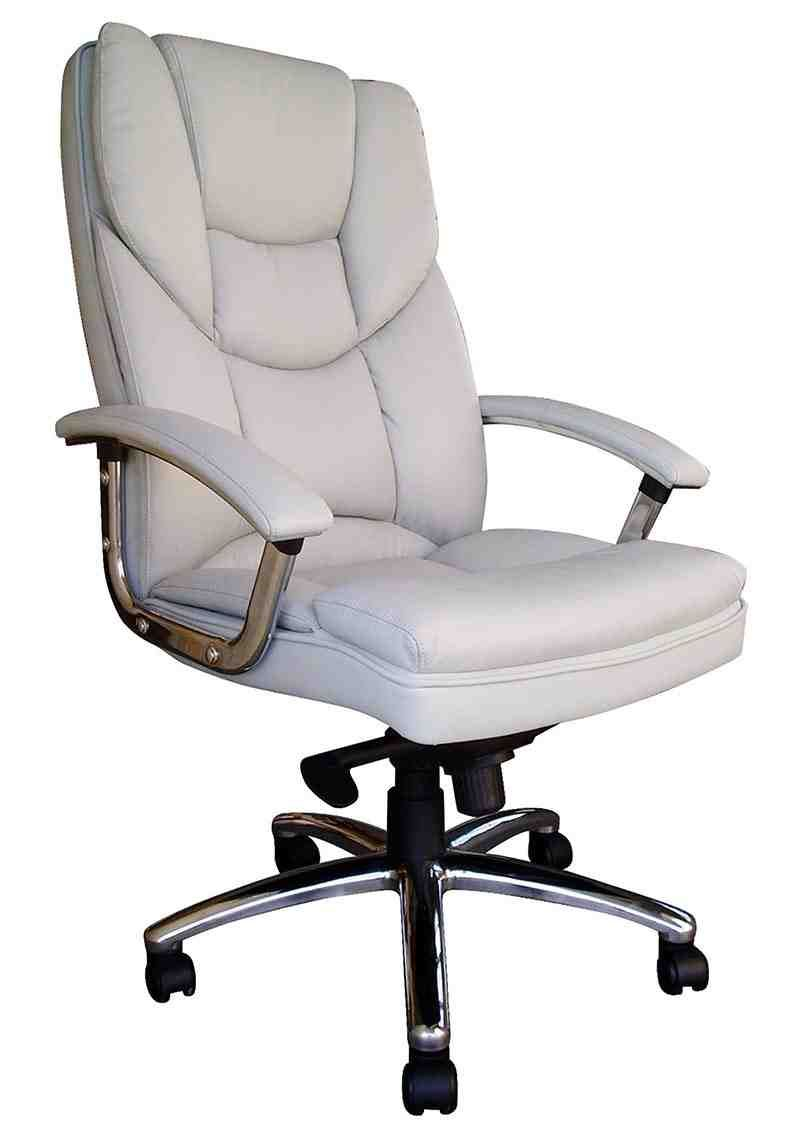 Italian Leather Office Chair With
