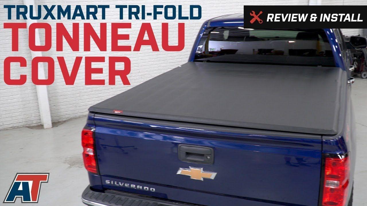 2014 2018 Silverado Truxmart Tri Fold Tonneau Cover Review