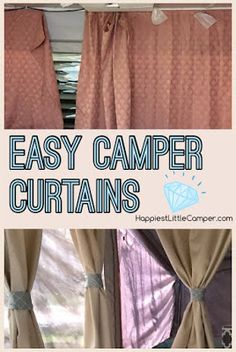 Side Curtains Hang On Bungee Cords Strung Between Hand Holds