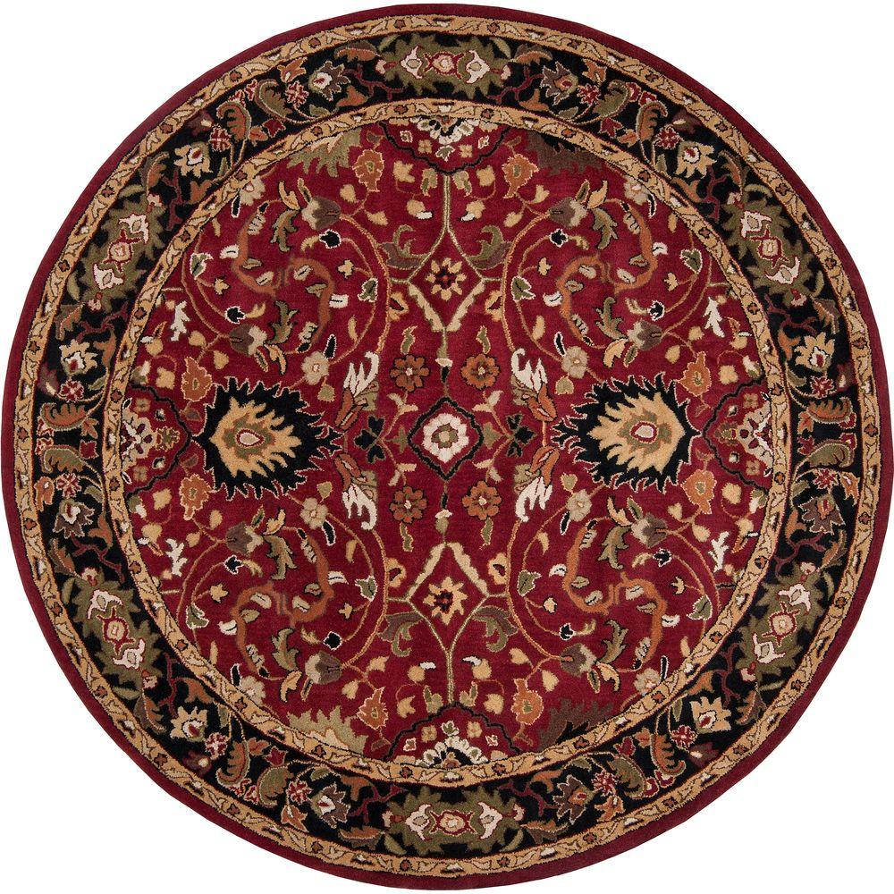 Artistic Weavers John Red 10 Ft Round Area Rug S00151006416