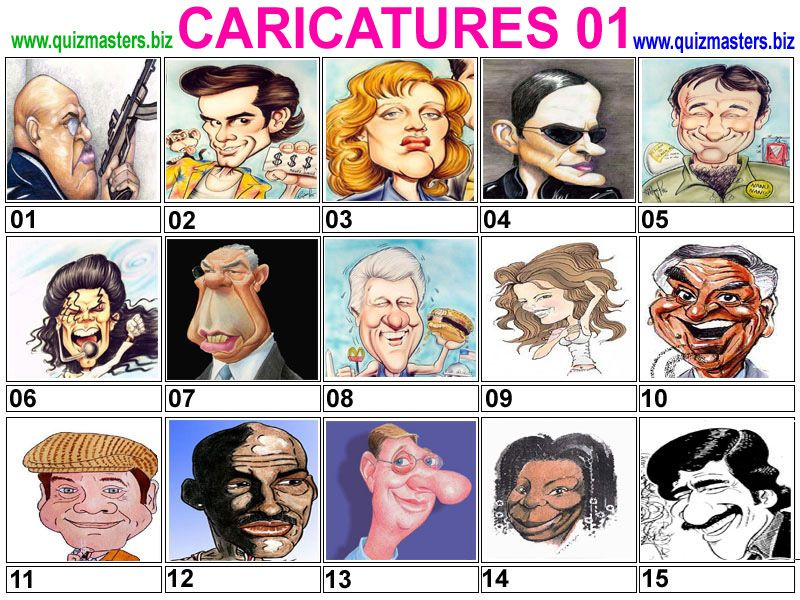 Guess The Caricature Logo Quiz Answers | Guides etc.