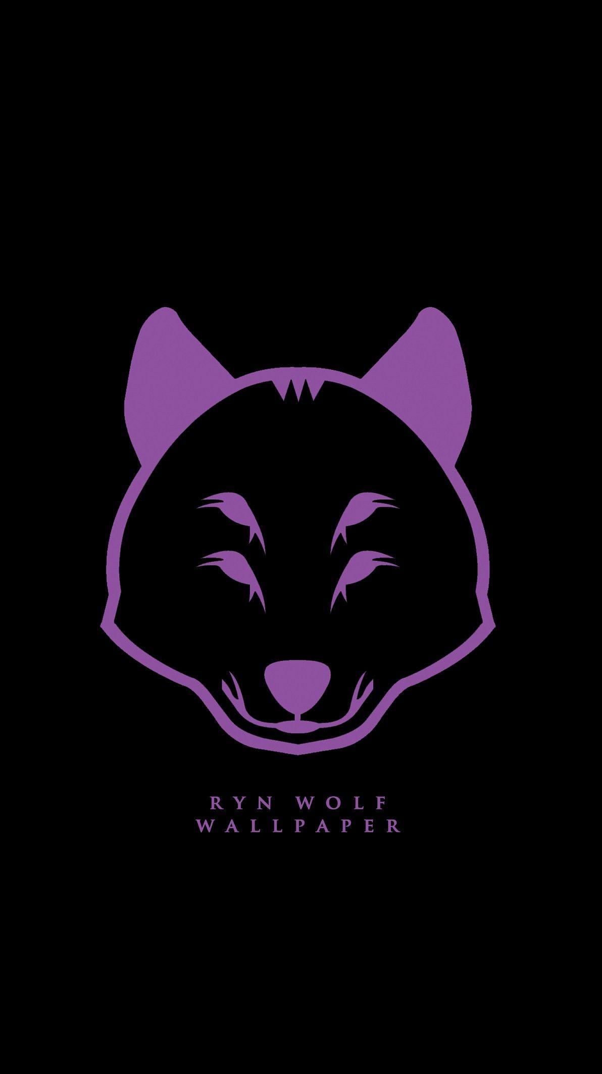 Ryn Wolf Logo Wallpaper