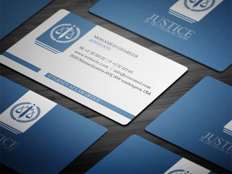 attorney business cards Google Search