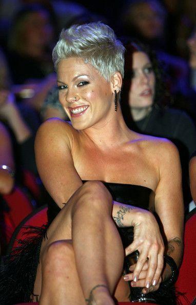Sängerin Pink Frisur