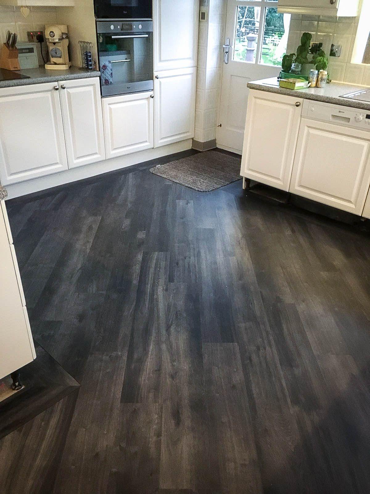 Kitchen Installation Karndean Designflooring Vgw89t Ebony With 3mm