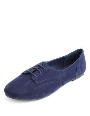 lace-up sueded oxford Oxfords are such a hipster/preppy choice right now, but they're classic for a reason and would add some modern/trendy funk to your basics. You'd look a little like Taylor Swift, for better or worse.