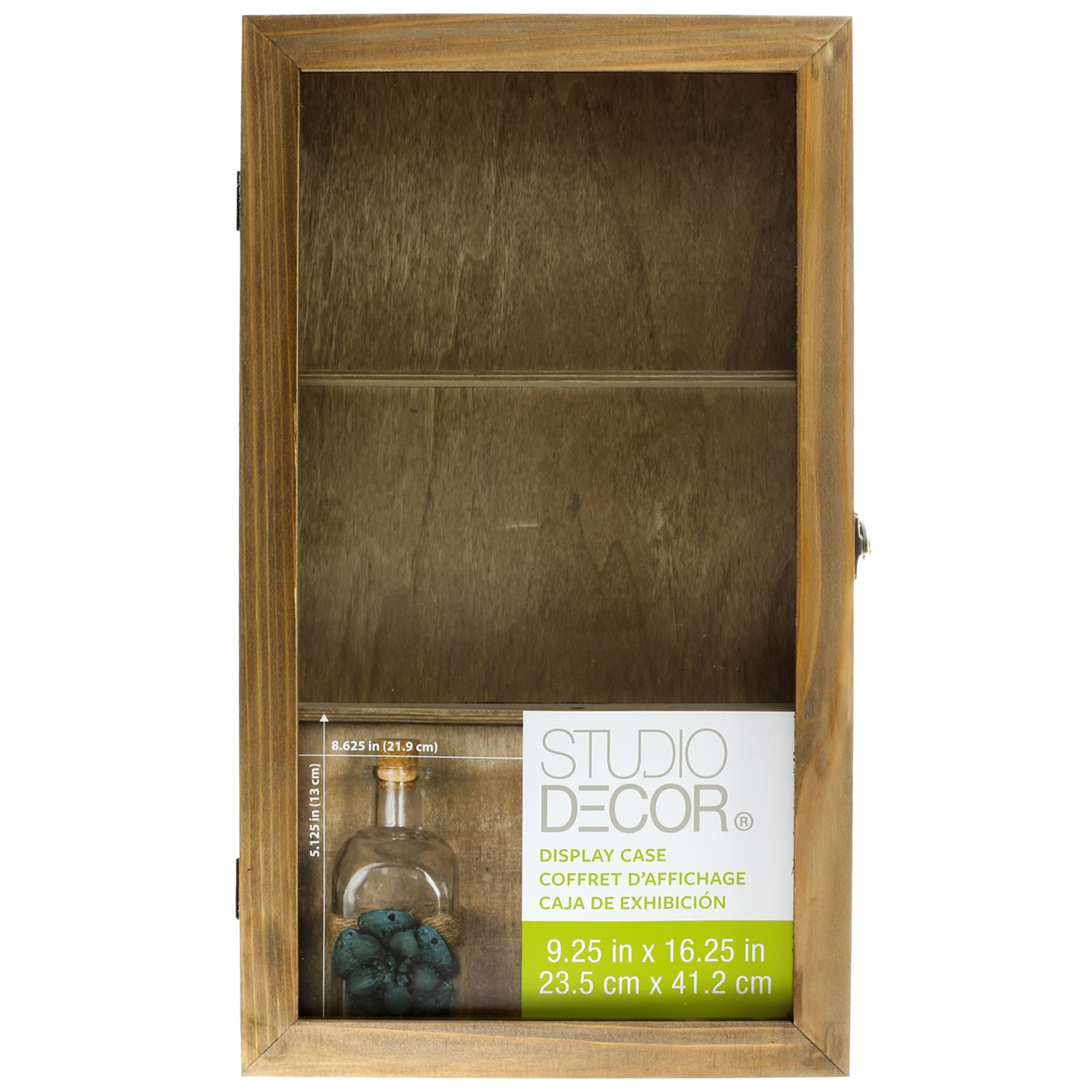 For The Rustic Display Case By Studio Decor At Michaels
