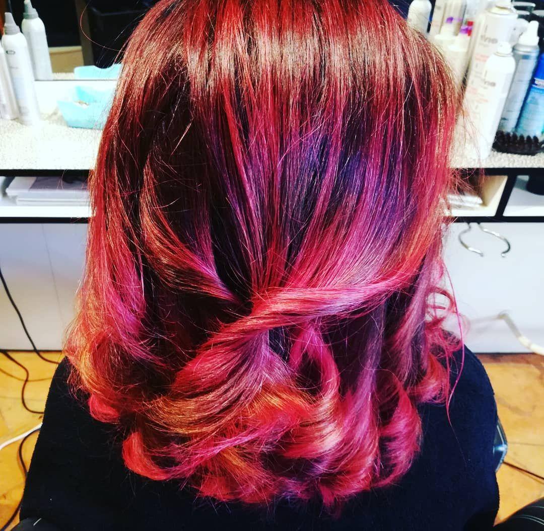 Goldwellcolor shatush hairdresser hairstyles haircut haircolor