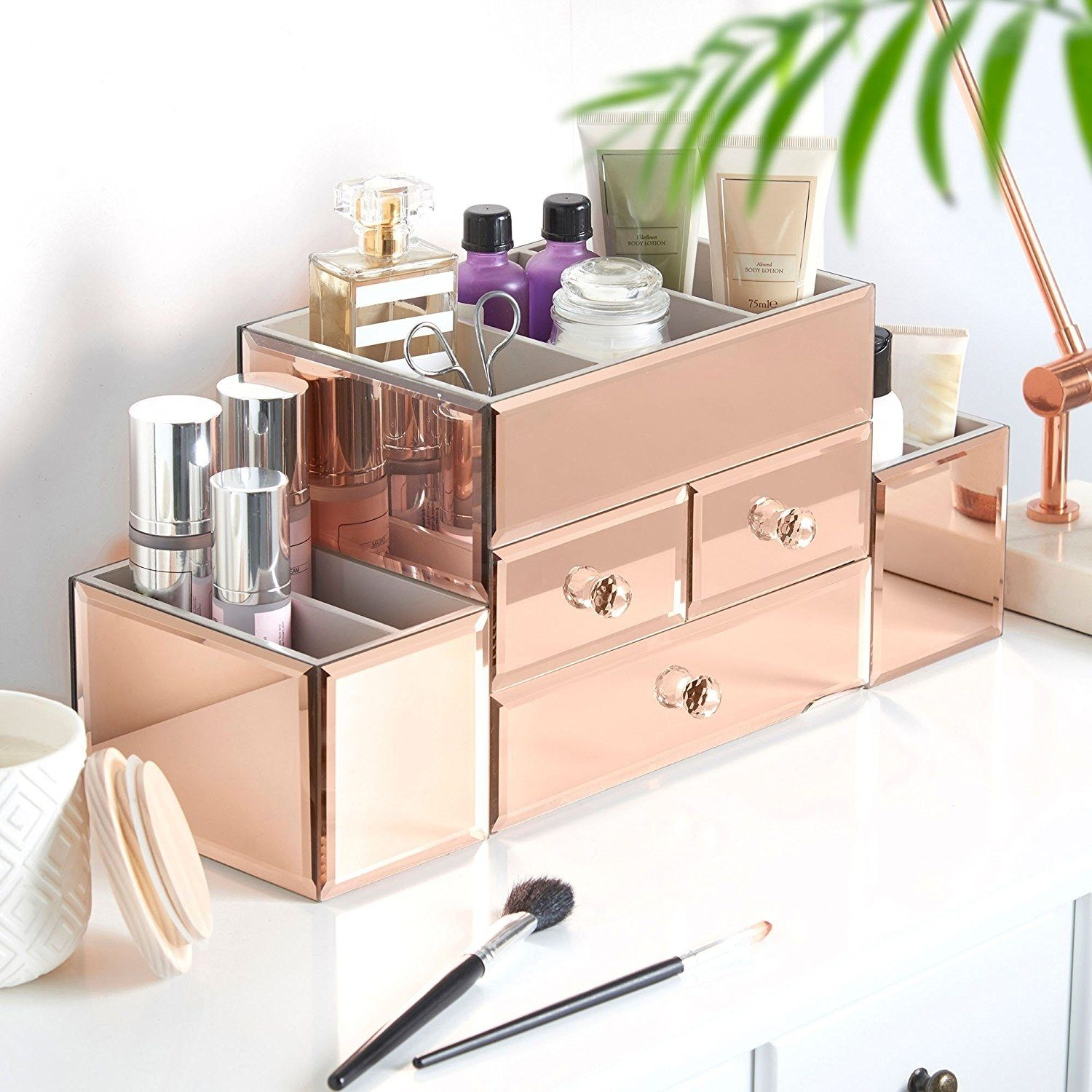 14 Makeup Organizers That Will Totally Transform Your Bathroom Counter