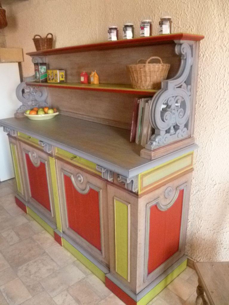 buffet et vaisselier relook s avant apr s relooking de. Black Bedroom Furniture Sets. Home Design Ideas