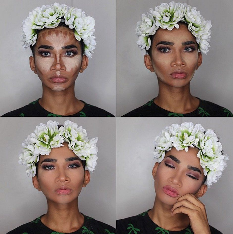 These are the funniest makeup tutorials weve ever seen popsugar bretman rocks makeup tutorials on instagram popsugar beauty baditri Image collections