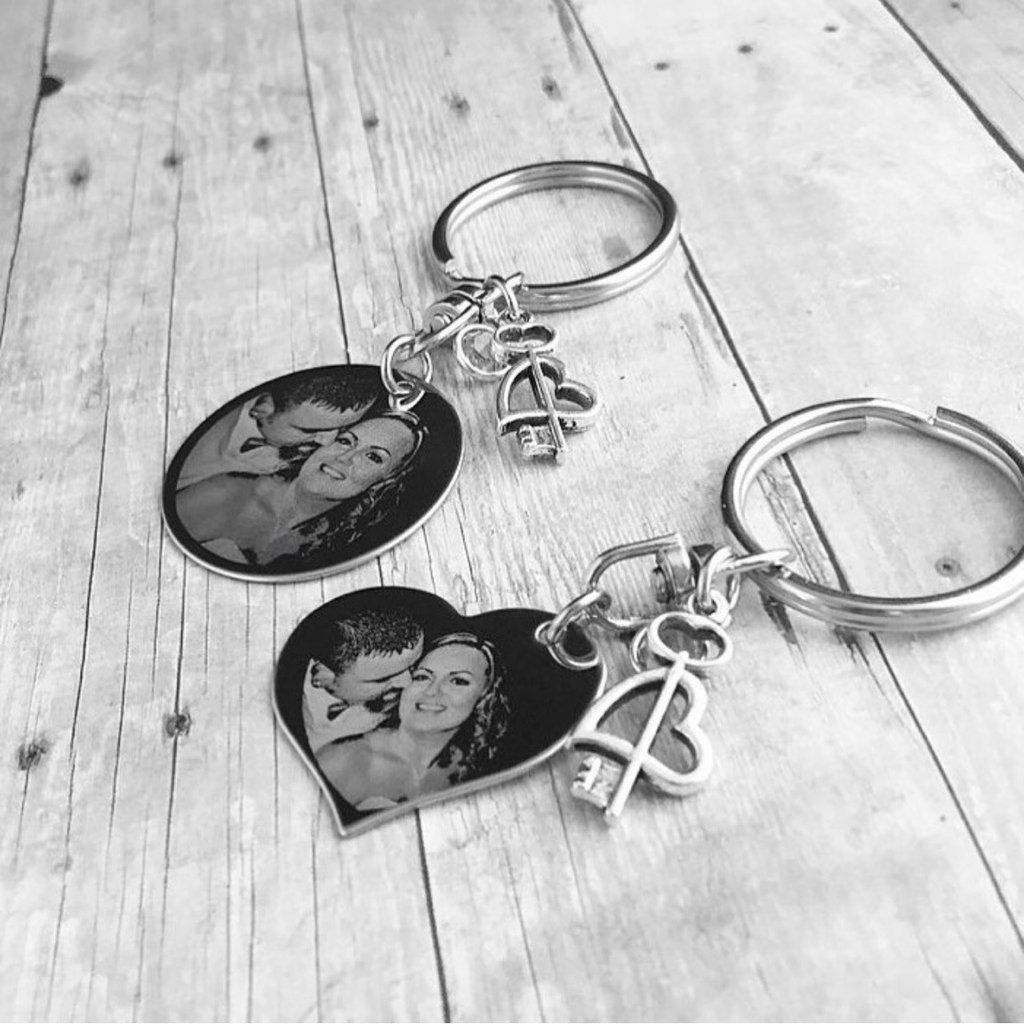 His hers keychain set keychain set gifts for father