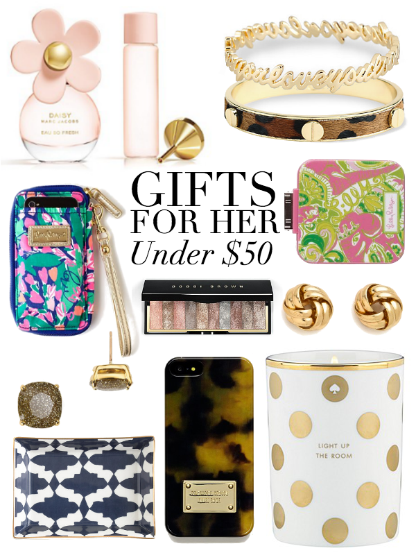 Cute gifts for her under $50- follow www.lisilerch.com for more ...