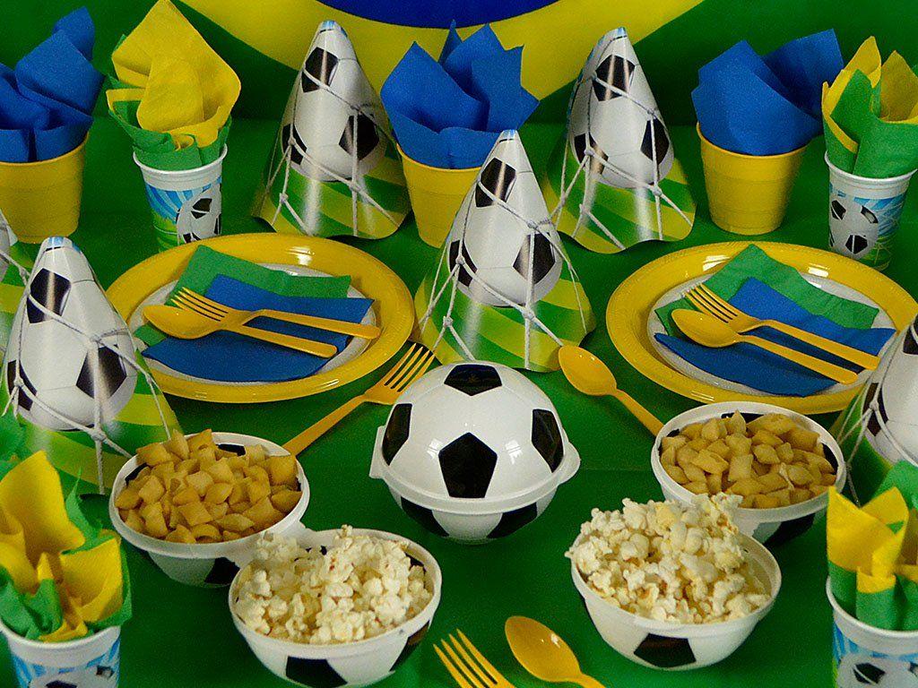 Festa Futebol Dicas De Artigos De Festa Decoracao Copa Do Mundo