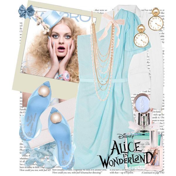 Alice in wonderland!, created by amandabellerogue on Polyvore