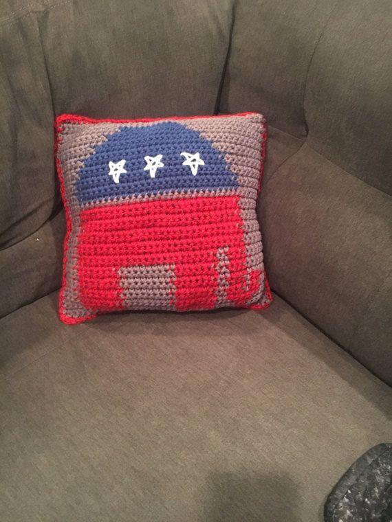 Calvin The Elephant Pillow Pattern Steel Toes Not Stilettos