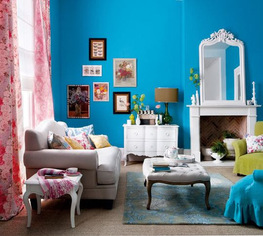 Vintage Inspired Living Rooms