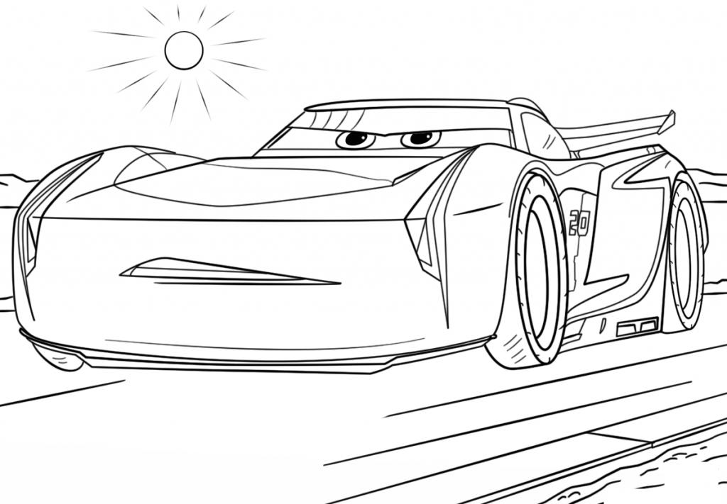 Cars Coloring Pages Cars 3 Disney Dibujos Para Colorear Y
