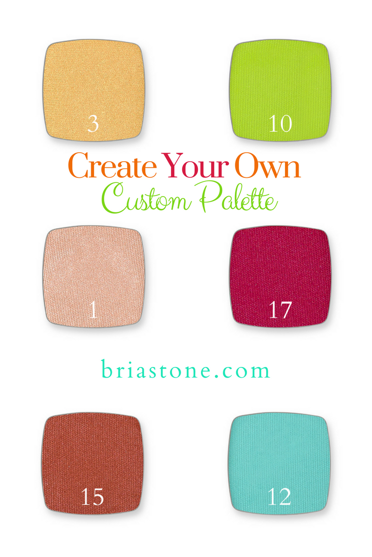 Build your own palette! Choose your favorite shades and