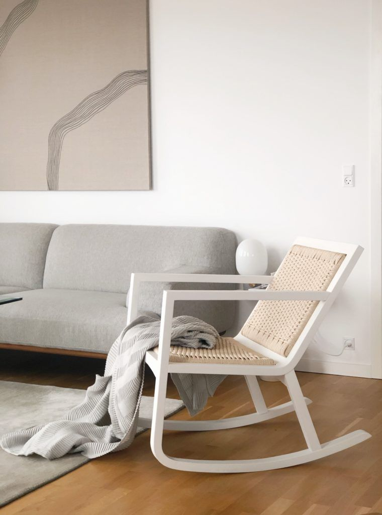 The Braided Rocking Chair September Edit Living Room Scandinavian Scandinavian Rocking Chairs Rocking Chair