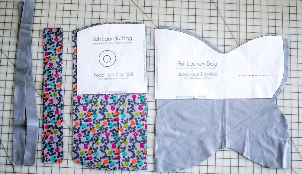 Fish Laundry Bags Free Sewing Pattern Sewing Patterns