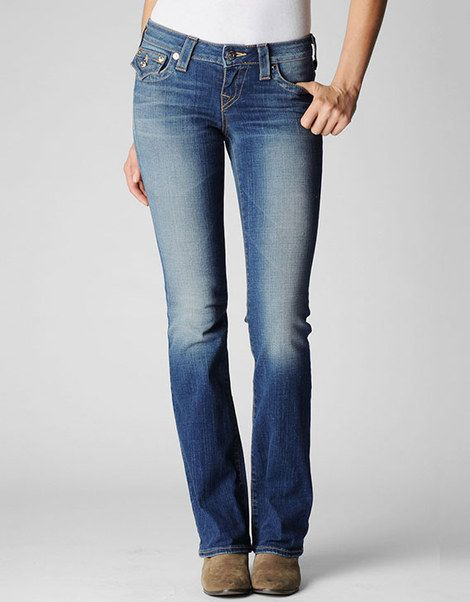 00c42213f True Religion Becky Mid-rise Bootcut Jeans