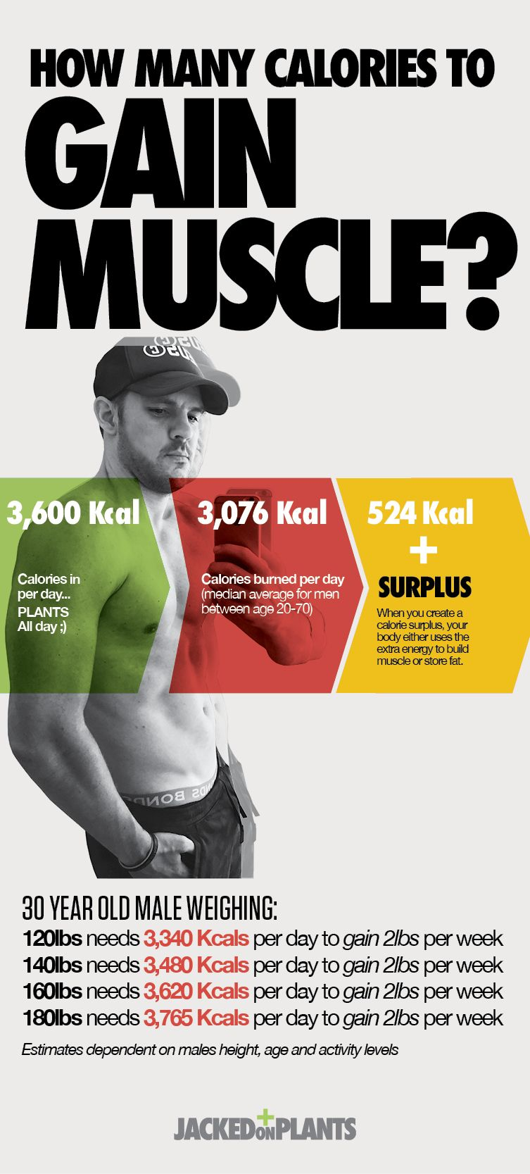 How Much Should I Eat Per Day To Gain Muscle Mass Gain Muscle Mass Gain Muscle Body Weight Training