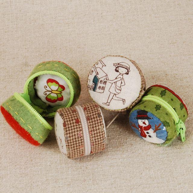 Mararoon Purses - tiny zip zakka purse -- tutorial * wenn frau sehr schön von hand näht werden die superlieb