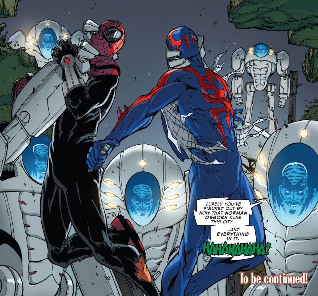 Norman Osborn, the Superior Spider-Man and Spider-Man 2099 ...