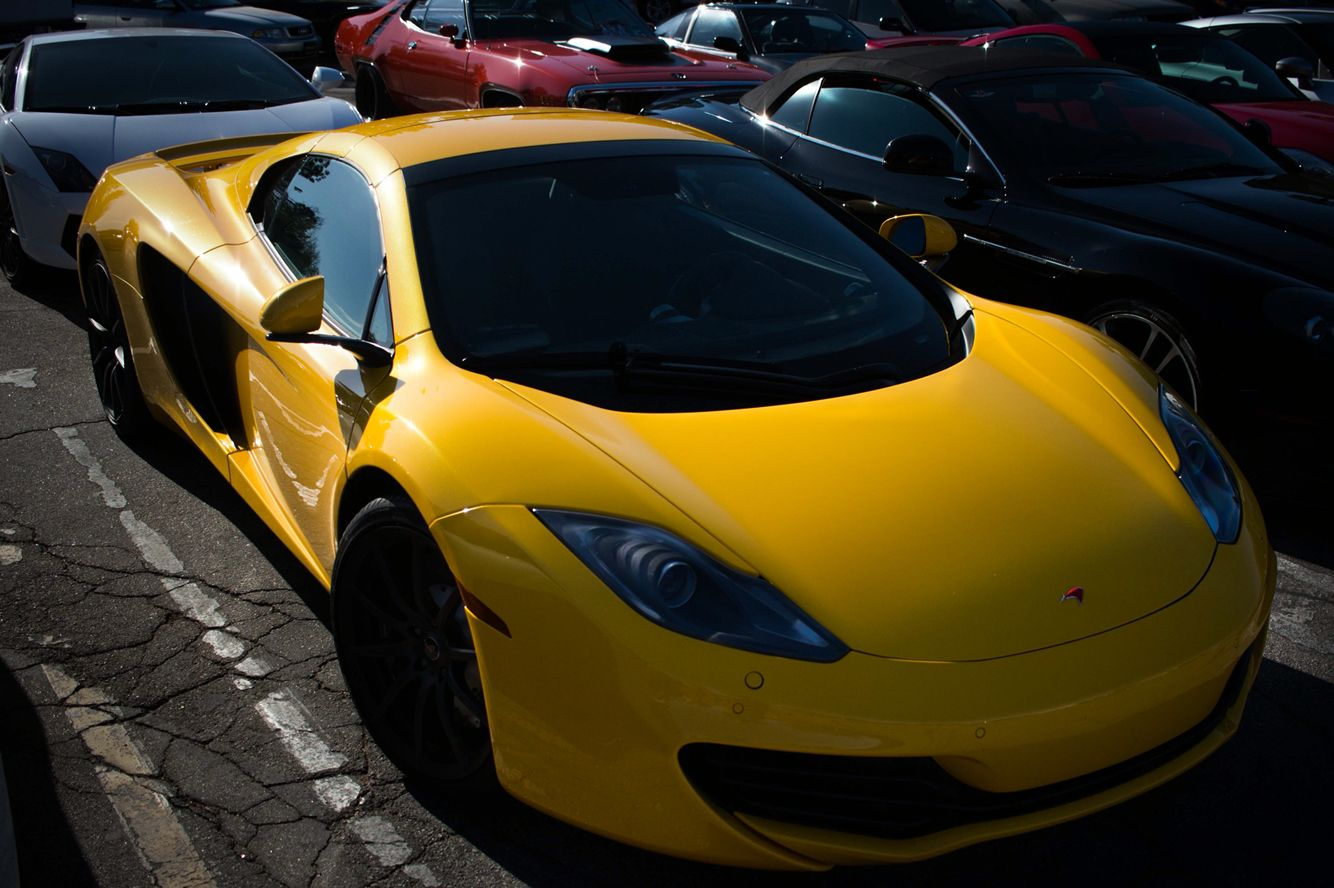 Yellow Mclaren At Supercar Sunday By Me Richard Hosack Super Cars Mclaren Sports Car