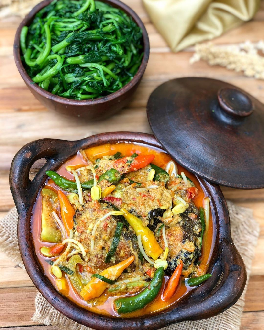 Resep Kothok Ikan Patin Dan Cara Membuat Kotok Ikan Patin Lengkap Bumbu Masakan Kotokan Ikan Patin Dan Langkah Bikin Ikan Masak San Resep Resep Masakan Masakan