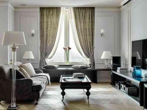 Déco salon gris et blanc  28 modèles élégants Salon gris, Deco